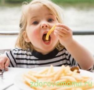 Питание детей с избыточным весом